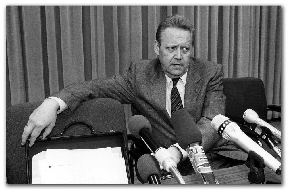 Schabowski: una rueda de prensa Patrimonio de la Humanidad