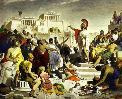 Clístenes, el ostracismo y lo insufrible de «todos y todas»