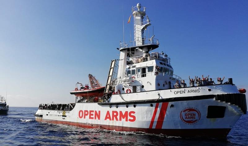 El caso Open Arms, o si las fronteras deben o no existir